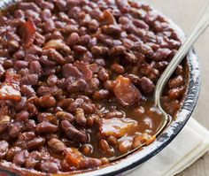 Healthy Baked Beans  #HealthyRecipes #LYFEKitchen #BakedBeans #EATGood #FEELGood
