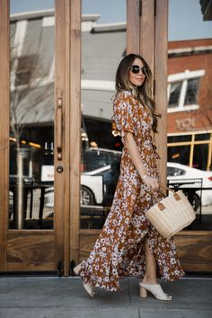 Styling a Maxi dress for Spring #style #fashionista #TTD
