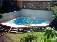 New interessante Poolgestaltung im Garten Gartengestaltung mini pool Pinterest Mini pool