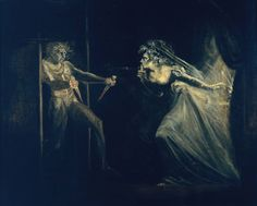 John Henry Fuseli, Lady Macbeth Seizing the Daggers, exhibited 1812 From the Tate Collection