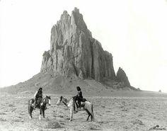 Navajo Men by Shiprock