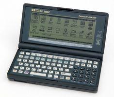 HP Hewlett Packard 200LX Palmtop PC Computer.