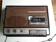 ELEKTRONIKA - 302 Kassetten Tonbandgerät, Kassettengerät DDR Ostalgie tragbar