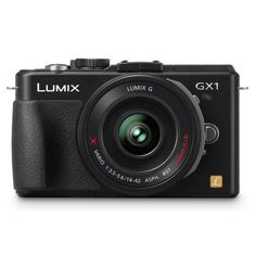 Panasonic Lumix DMC-GX1X 16 MP Micro 4/3 Compact System Camera, 3-Inch LCD Touch Screen and 14-42mm X Power Zoom Lens (Black)
