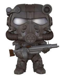 Cabezón T-60 Power Armor 9 cm. Fallout 4. Línea POP! Games. Funko  Estupendo cabezón de 9 cm del personaje de T-60 Power Armor, fabricado en vinilo de alta calidad y 100% oficial y licenciado visto en el videojuego llamado Fallout 4. Un bonito cabezón para realizar la colección junto con los demás personajes del juego. ¡Colecciónalos!.