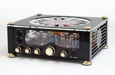 top class OTL highend tube headphone amplifier from AudioValve germany