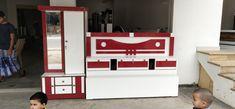 Folding Furniture, Bedroom Furniture Sets, Kitchen Furniture, Bedroom Bed Design, Bedroom Decor, Dressing Table Design, Bedroom Cupboard Designs, Room Set, Bedrooms