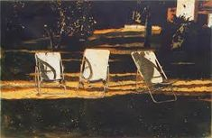'Three Chairs' etching by Colin Martin (Edition of Printmaking, Fine Art Prints, Nostalgia, Paper Crafts, Landscape, Studio, Gallery, Artwork, Chairs