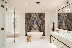 pictame webstagram Good morning ☀️ today is a beautiful day to come out and see our showroom 🛁🚿🚰📐 . Bathroom Inspo, Bathroom Inspiration, Master Bathroom, Black Interior Doors, Bathroom Design Luxury, Home Look, Contemporary Interior, Home Decor, Houses
