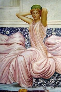 Albert Joseph Moore (4 September 1841 – 25 September 1893) was an English painter, known for his depictions of langorous female figures set against the luxury and decadence of the classical world.