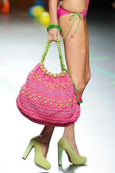 Bolso Rosa - por Agatha Ruiz de la Prada. ||| Pink Bag - by Agatha Ruiz de la Prada.