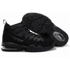 1a0c5784066aa Nike Air Trainer Max 2 94 basketball shoes in all black