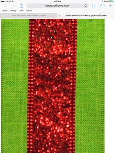 Christmas ribbon Christmas Ribbon, Christmas 2019, Wreath Supplies, Wreaths, Red, Ideas, Decor, Door Wreaths, Decorating