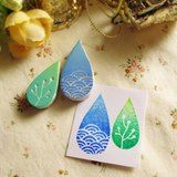 Drops stamps by apus-box - Pinkoi