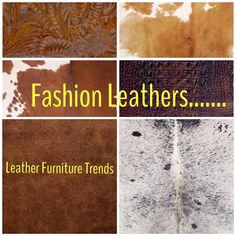 Leather Furniture Fashions and Trends...... Leather Furniture Can be Fun and Fashionable.. www.fineleatherfurniture.com