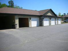 Garage space.