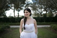 Pockets! Real Bride Sarah in Ivy & Aster custom gown!