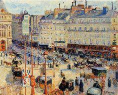 """""""Place du Havre, Paris"""" - Camille Pissarro"""