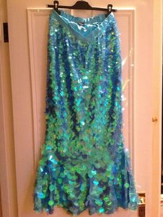 ADULT MERMAID COSTUME - Theatrical quality, great condition!!!