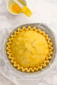 Apple pie pronta da cuocere - Ricetta Apple pie American Apple Pie, American Cake, Biscotti, Fett, Cake Cookies, Bakery, Cooking, Desserts, Recipes