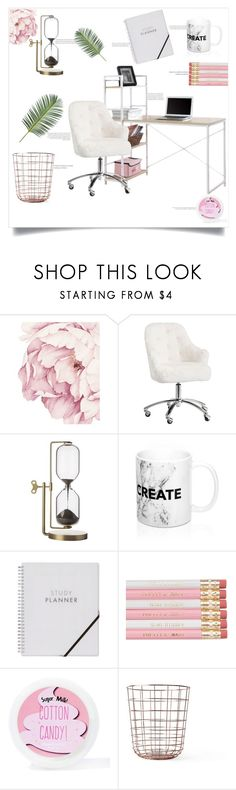"""""""Cotton Candy"""" by kittengiggle ❤ liked on Polyvore featuring interior, interiors, interior design, home, home decor, interior decorating, PBteen, Sugar Milk Co and Minimal"""