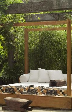 Stillness in your own backyard! Urban Zen Home Collection #urbanzen