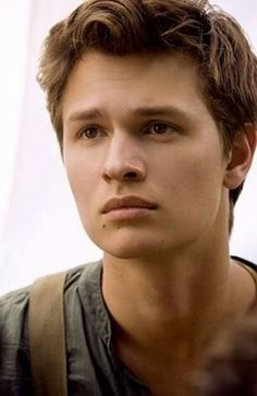 Ansel Elgort as Caleb in Divergent trilogy