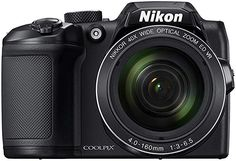 Buy Nikon Coolpix Zoom Bridge Camera - Black at Argos. Thousands of products for same day delivery or fast store collection. Photo Pro, Canon Kamera, Bluetooth, Bridge Camera, Secure Digital, Optical Image, Full Hd 1080p, Nikon Coolpix, Shopping