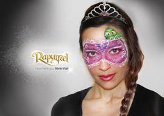 RAPUNZEL Face Painitng by Silvia Vitali