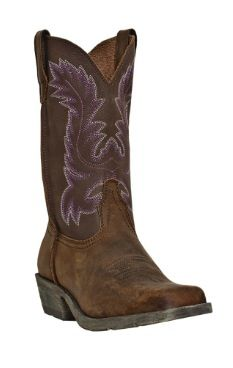 Cowgirl boots. PURPLE all the way!