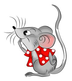 Myszki new ideas on The Cedrus Cute Animal Drawings, Cartoon Drawings, Cartoon Art, Cute Drawings, Fabric Painting, Painting & Drawing, Mouse Pictures, Mouse Crafts, Cute Rats