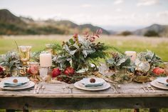 loving this boho/medieval tablescape