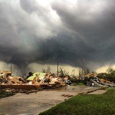 Massive Twin Tornadoes Rip Through Nebraska, Leaving Towns In Ruins