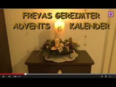 FreyaGlücksweg66 ★ 6. Dezember ★ Gereimter Adventskalender ★ 6. Tag ★ ......................................................6. Türchen, 6. Tuerchen, Adventskalender, Video-Adventskalender, Online-Adventskalender, sechstes Türchen, sechstes Tuerchen, 6. Toerechen, 6. Törchen, gereimter Adventskalender, Adventsgedichte, Advents-Gedichte, Adventskerze, Advents-Video, Adventsvideo, Adventskalender-Video, Video-Clip Adventskalender,