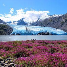 View of Portage Glacier in Alaska. Photo courtesy of tony_ross on Instagram.