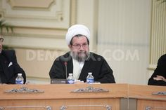 Ayatollah Jalal Ganjé'i, chairman of NCRI Committee on Freedom of Religion.