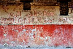 Ancient Graffiti At Pompei: Early Wall Posts And Political Slogans