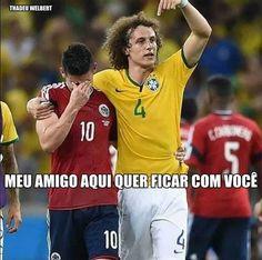 Os melhores memes do David Luiz