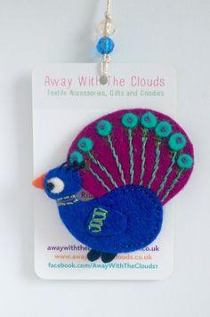 Peacock Brooch £6.00