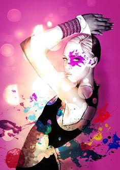 #fashion #model #skech #picture #body #concept #art #photomontage #illustration