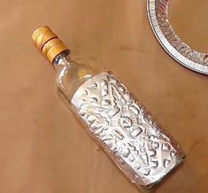230bebb3c1fa Decoración de botellas botella decorada  bottledecordiy  reciclaje   botelladecorada