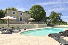 Manoir Du Jasmin - 7 Bedroom pet friendly Holiday Chateau in Saint-Capraise-d'Eymet sleeps 14 people with a swimming pool perfect for last minute breaks Pet Friendly Holidays, Converted Barn, Summer Scent, Dordogne, Canoe Trip, Home Cinemas, France, Countryside
