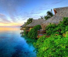 Visita uno de los lugares más hermosos del planeta: #Tahiti , conocido por sus paradisíacas playas y sus asombrosos entornos naturales. Tahiti es la isla más grande de la #PolinesiaFrancesa, cuya capital es #Papeete. Viaja a la Polinesia Francesa para vivir la mejor experiencia en este idílico destino rodeado de jardines de coral y playas de fina arena, tanto blanca como negra. http://www.felicesvacaciones.es/oferta-de-viaje-a-bora-bora-y-tahit%C3%AD-1085/