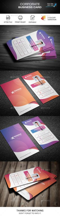 341 best creative business cards images on pinterest business buy business card by madmindgraphics on graphicriver features psd files 2 color variation easy customizable and editable size in with bleed 300 dpi print friedricerecipe Images