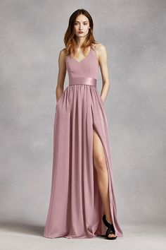 3ab1c51aaf59 An exquisite gown that is perfect for a wedding party or any special event!  V