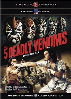 5 Kickass Kung Fu Flicks of the 5 Deadly Venoms is my favorite, and I seem to enjoy the Shaw Brothers films the most. Kung Fu Martial Arts, Martial Arts Movies, Martial Artists, Karate Movies, Kung Fu Movies, Der Leopard, Brothers Movie, Deadly, Blu Ray Movies