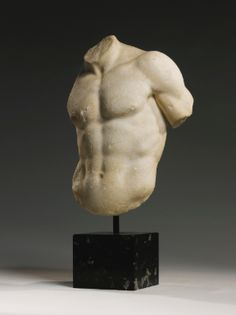 A Marble Torso of a God or Athlete, Roman Imperial, circa 1st/2nd Century A.D.