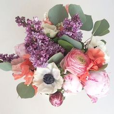 Reposting pic from  @aliciakeats . Every time lilacs , lily of the valley, and peonies are together I call it the perfect storm of florals. It also reminds me the most of  Alicia and Duncan's beautiful wedding.  Sweet memories. #flowerfactory #flowerfactoryvan #vancouverflorist #vancouverwedding