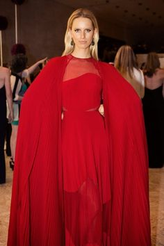 Parties — Valentino's Red Carpet - Karolina Kurkova