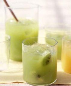 ... : Fresh Kiwi-Grape Juice with Granny Smith Apples, Fresh Lemon juice